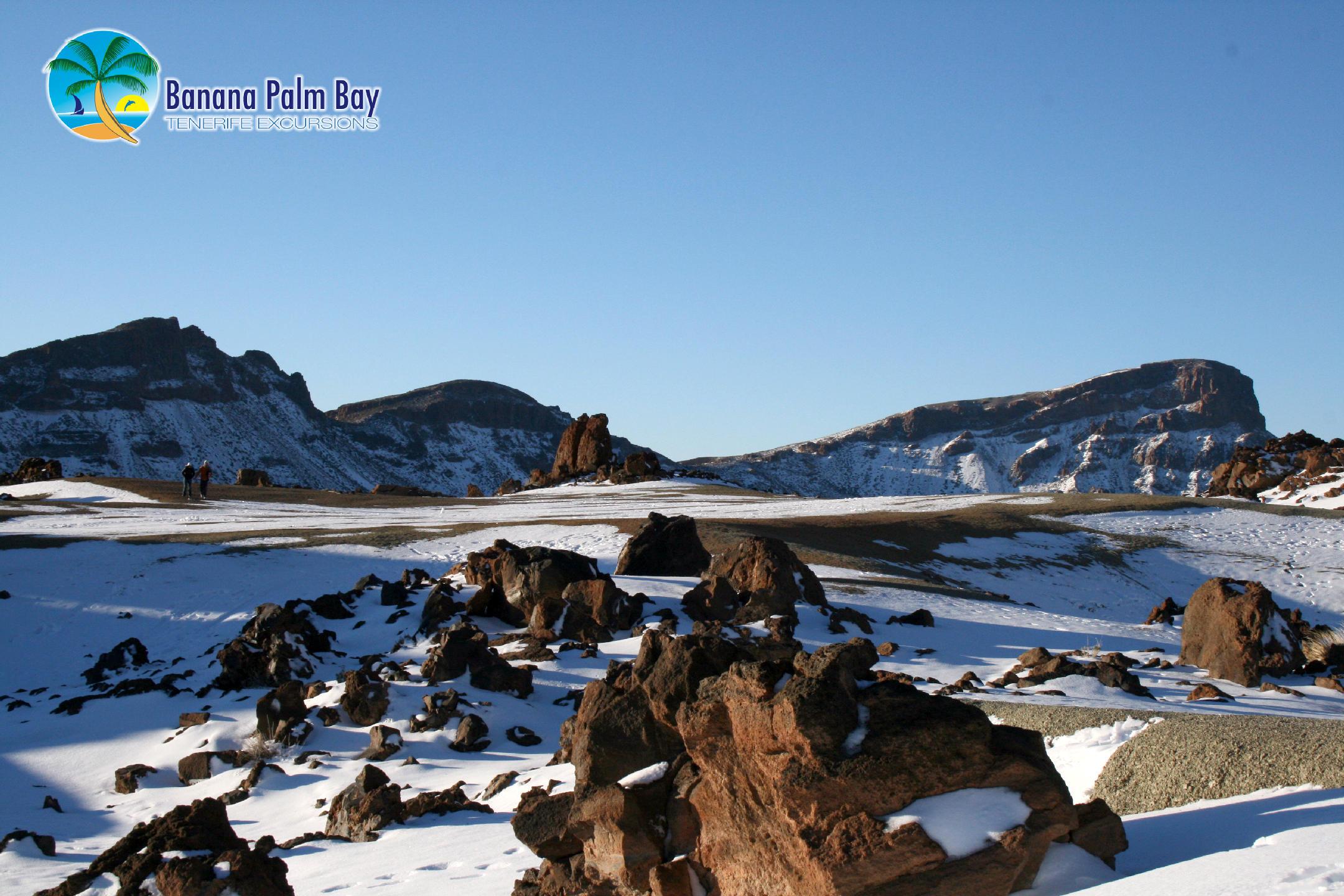 winter landscape of Teide National Park