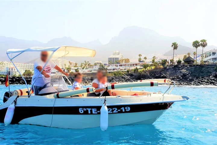 Self Drive Boat Hire in Tenerife South (Boat Licence not required) - 5793