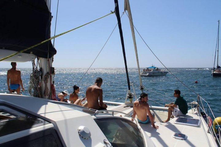 Privé Catamaran Charter in Tenerife met Kennex Catamaran - 503