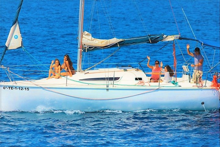 Sailing Boat Charter in Tenerife Galatea - Boat Charter in Tenerife with Sailing Boat Galatea