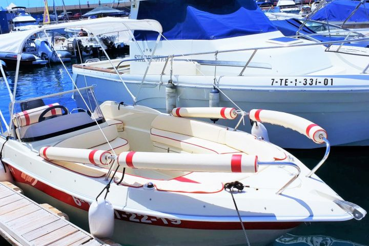 Self Drive Boat Hire in Tenerife South (Boat Licence not required) - 5788