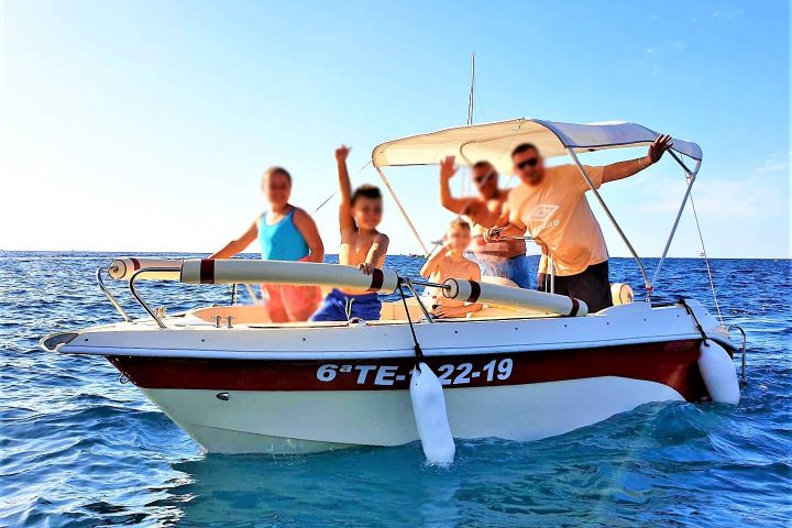 Self Drive Boat Hire in Tenerife South (Boat Licence not required) - 5792
