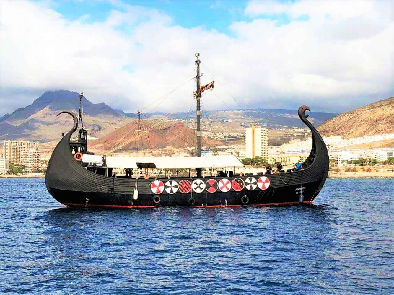 3-urni izlet z vikinško ladjo na Tenerife