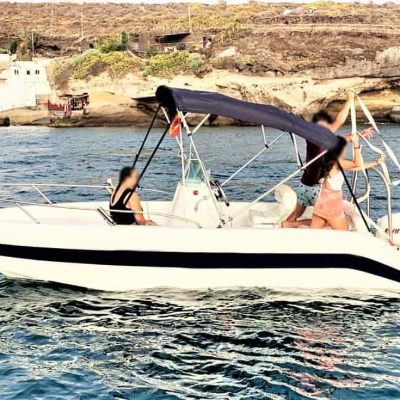 Boat Hire Tenerife without Boat License Alfi Boat 4 - Self drive boat hire in Tenerife (without Skipper)