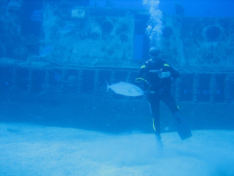Cours de plongée en eau libre à Tenerife