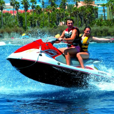 Jetski in tenerife south - Гидроцикл на Тенерифе