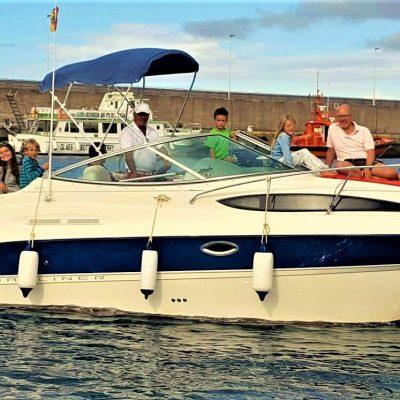 Motor Boat Charter in Gran Canaria Pasito Blanco (1) - Private Motoryacht-Vermietung auf Gran Canaria