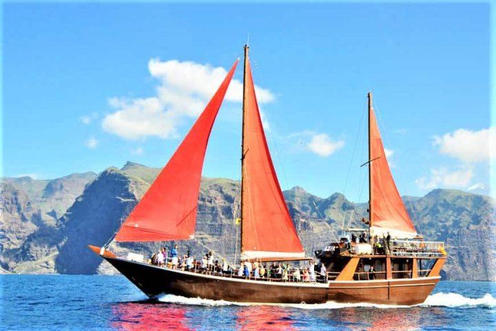 Tenerife laevareis Los Gigantes'ile koos Shoguniga - 7262
