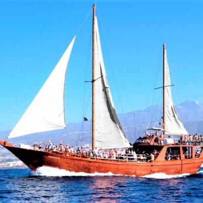Neptuno Tenerife Boat Trip to Los Gigantes form North and South (10) - Tenerifes laivu brauciens uz Los Gigantes ar Shogun