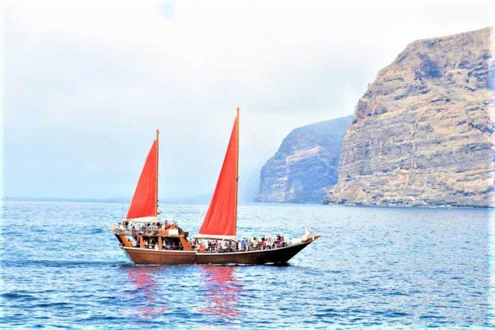 Tenerife laevareis Los Gigantes'ile koos Shoguniga - 7276