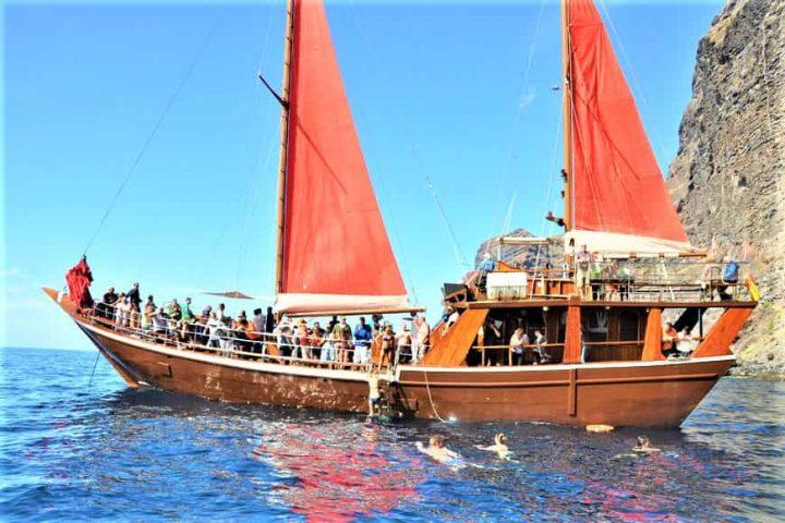 Tenerife laevareis Los Gigantes'ile koos Shoguniga - 7263