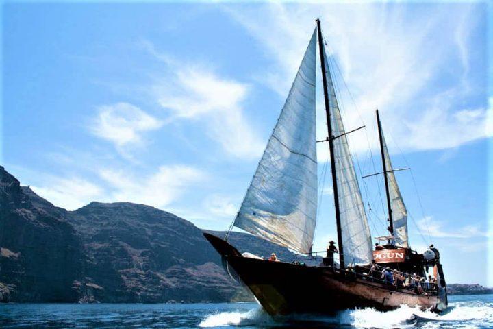 Tenerife laevareis Los Gigantes'ile koos Shoguniga - 7267
