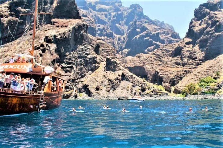 Tenerife laevareis Los Gigantes'ile koos Shoguniga - 7269