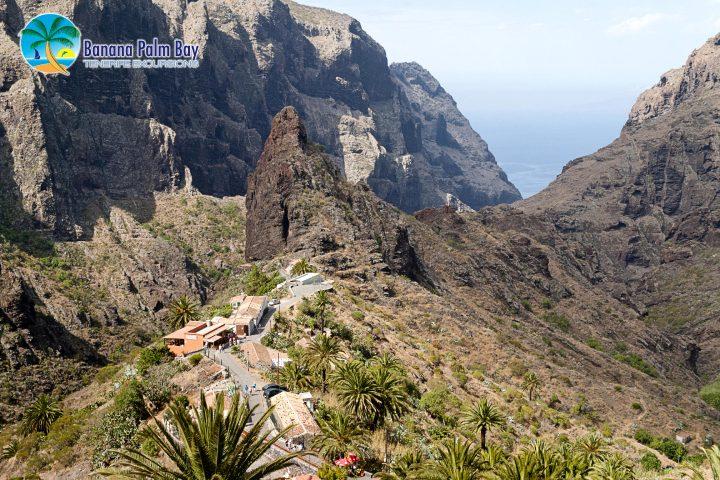 Teneryfa trekkingowy kanion Masca - 1044