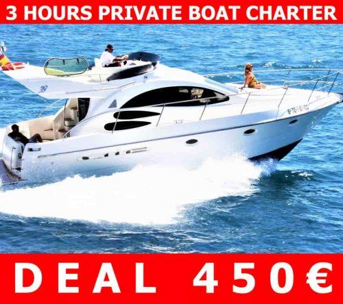 Tenerife Motor Yacht Charter Deal discount