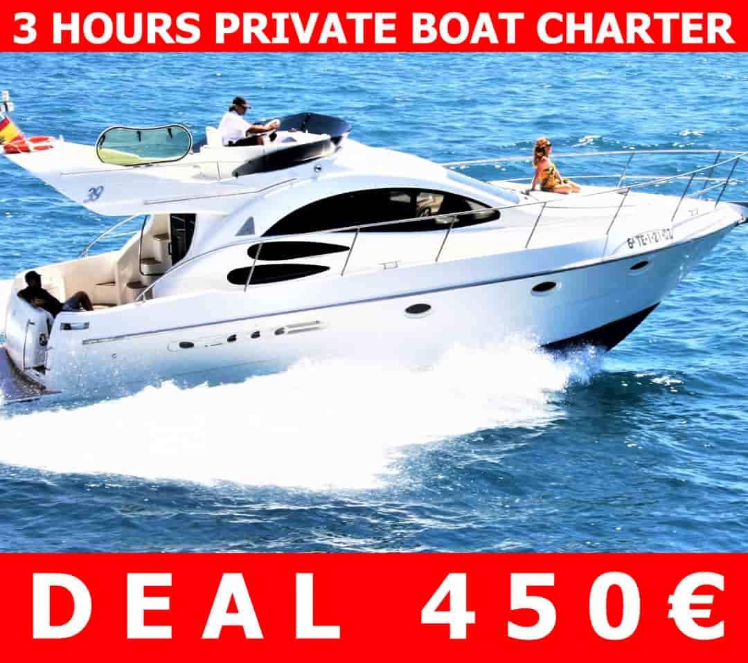 Tenerife Motor Yacht Charter DEAL