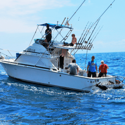 Private Fishing Boat Rental in Tenerife - 4 timers fisketur med No Limit