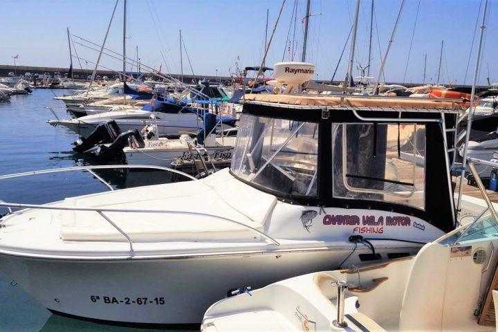 Fishing Charter in Las Galletas Tenerife South - 1197