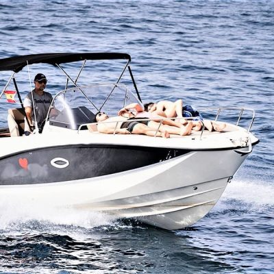 Rent motor boat tenerife without captain (15) - Tenerife Motor Boat Rental with Quicksilver 755 Sundeck with or without skipper