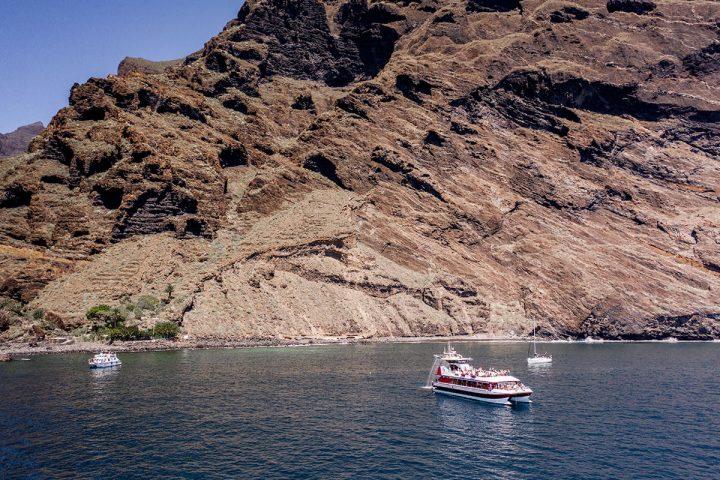 4,5-godzinna trasa katamaranem na Teneryfie z Royale Delfin do Los Gigantes - 1606