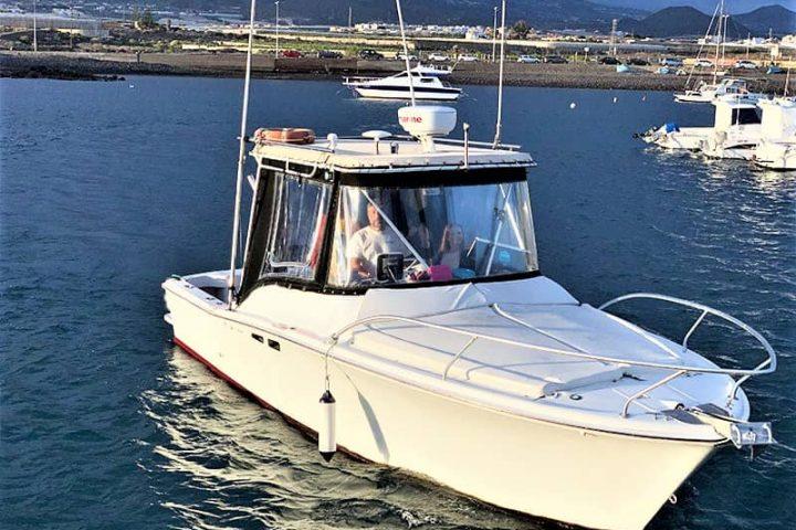 Teneriffa Fischen & Bootsverleih mit oder ohne Skipper in Las Galletas - 2388
