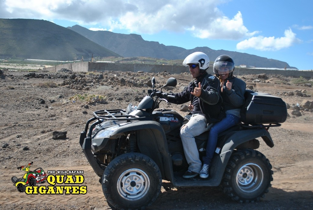 Tenerife Quad Bike Safari Vulcano