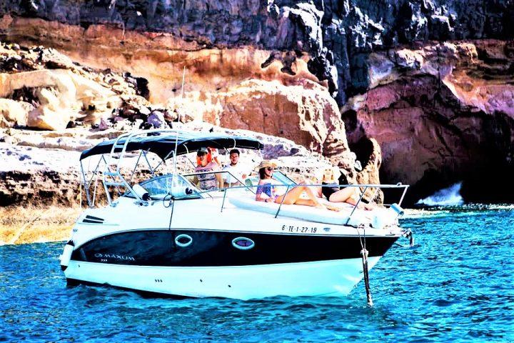 Teneriffa Motorboot-charter für Gruppen bis zu 6 personen - 458