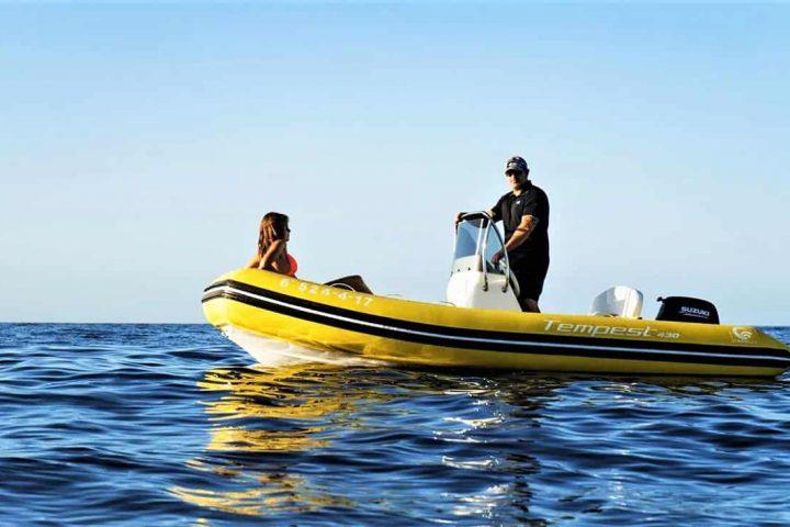 Barco semirrígido en Tenerife Sur Puerto Colon (No requiere licencia) - 4177