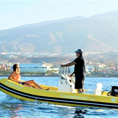 Tenerife self drive boat no license required - Self Drive RIB Boat in Tenerife South Puerto Colon (No license required)