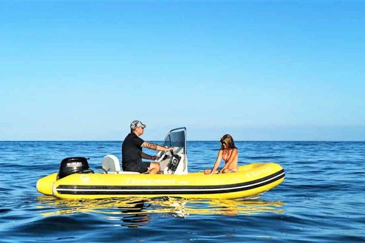 Barco semirrígido en Tenerife Sur Puerto Colon (No requiere licencia) - 4179