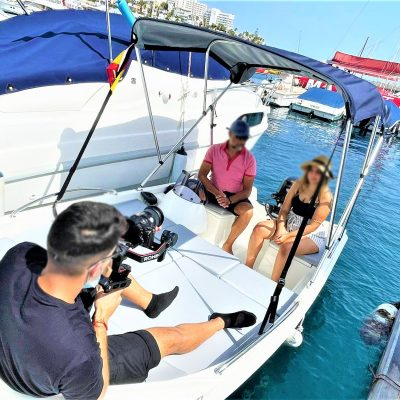 Puerto Colon Boat hire without licence - Valčių nuoma be licencijos Puerto Colon, iki 6 asmenų