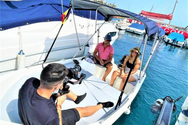 Pronájem lodí bez nutnosti licence v Puerto Colon, až pro 6 osob - 6803