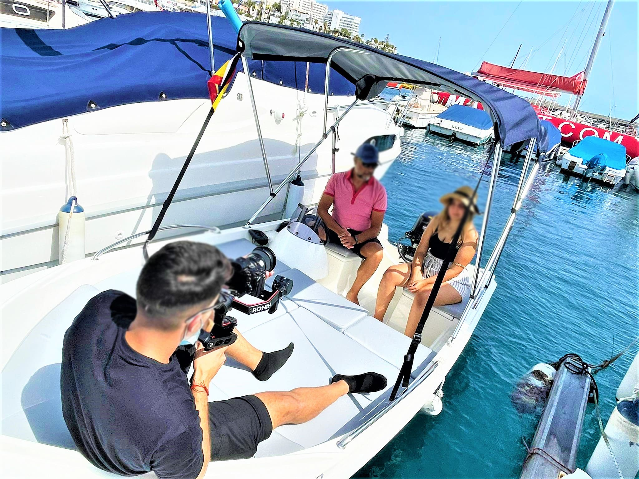 Boat Hire without Licence Required in Puerto Colon, for up to 6 persons