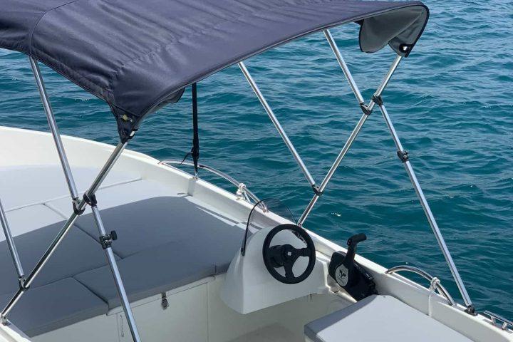 Pronájem lodí bez nutnosti licence v Puerto Colon, až pro 6 osob - 6804