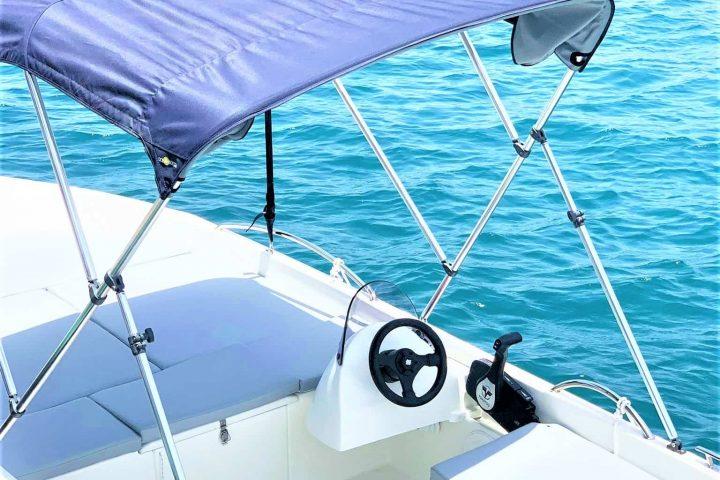 Pronájem lodí bez nutnosti licence v Puerto Colon, až pro 6 osob - 6810