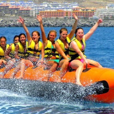 banana boat tenerife - Barco Banana em Tenerife