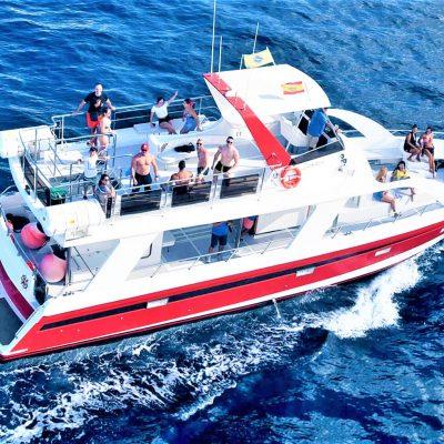 boat charter los Cristianos Tenerife for groups (1) - Privāto laivu noma ar kapteini Los Cristianos Tenerife
