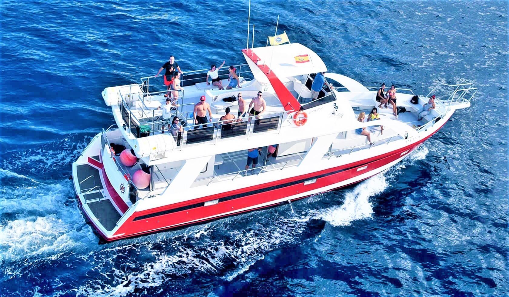 Private Boat hire with Skipper in Los Cristianos Tenerife