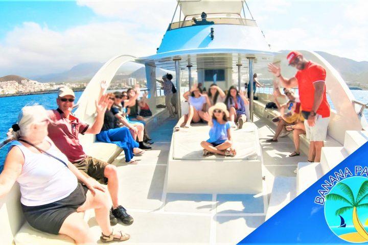 Privati valčių nuoma su kapitonu Los Cristianos Tenerifė - 7454