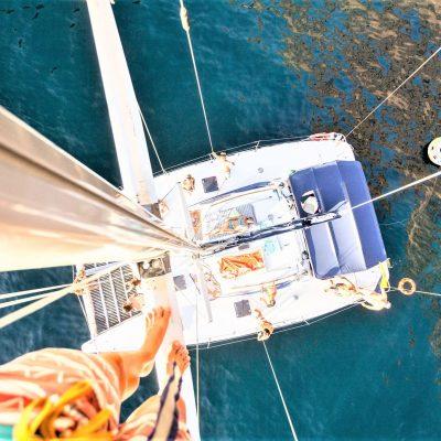 Marhaba catamaran charter los gigantes tenerife (1)-min - Alquiler de Catamarán en Tenerife en Los Gigantes