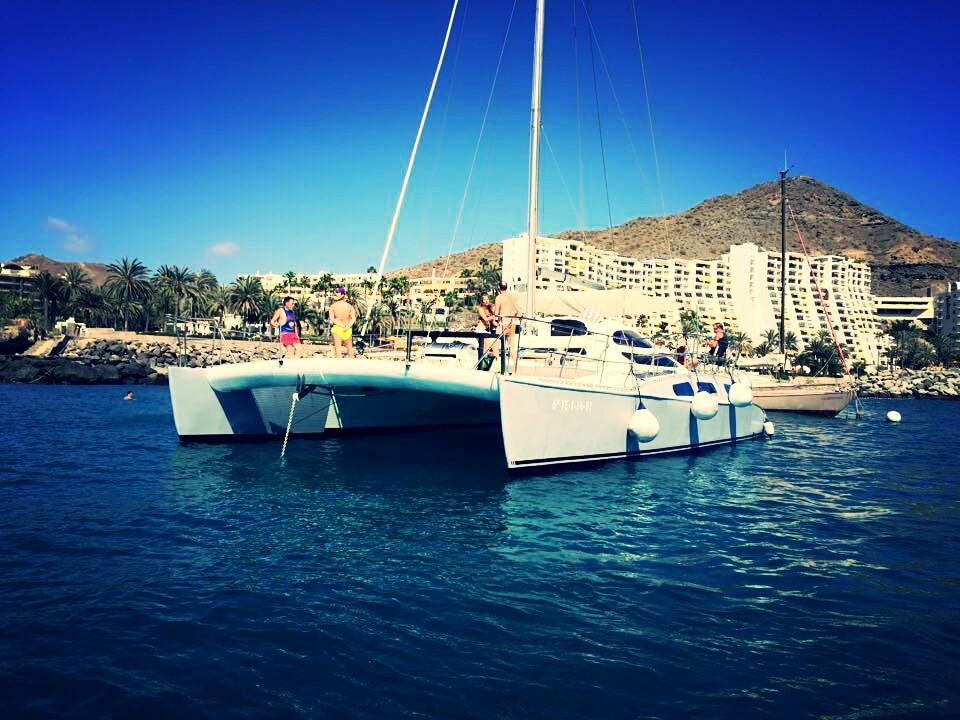 Location de catamarans privés à Gran Canaria