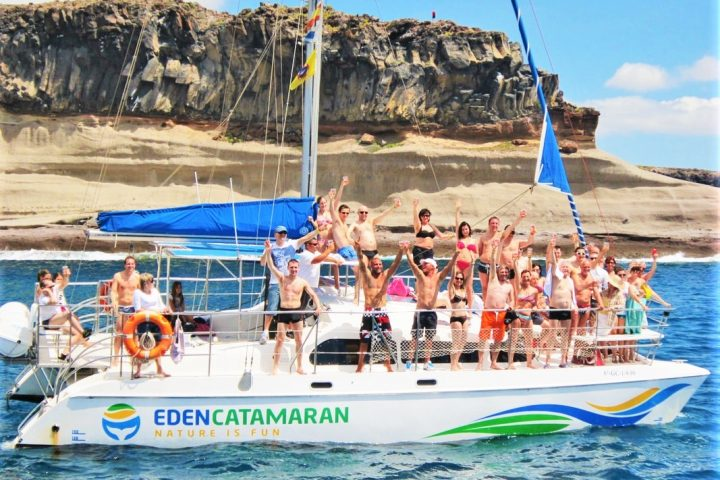 eden catamaran tour tenerife - 3h Whale Watching Tour in Tenerife with Eden Catamaran