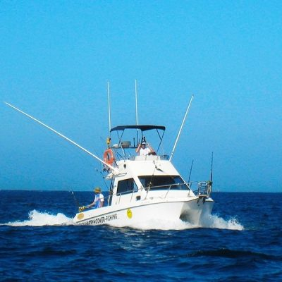Tenerife Fishing Boat Rental Puerto Colon Costa Adeje - Location de pêche privée à Tenerife avec Happy Hooker
