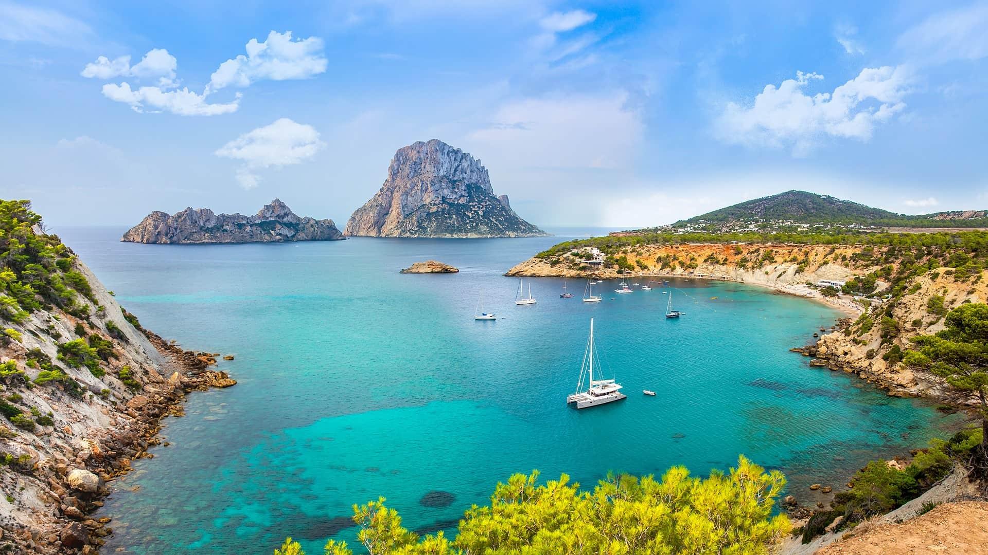 Ibiza Balearic Islands Bay