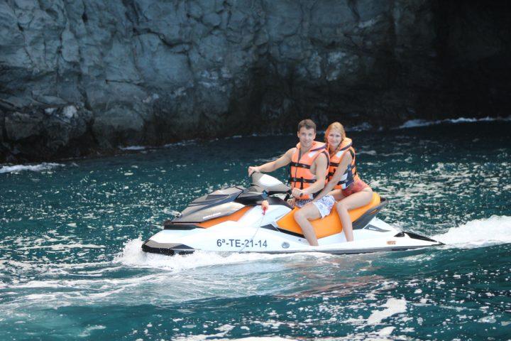 jetski los gigantes - Safari in moto d'acqua di 3 ore a Los Gigantes