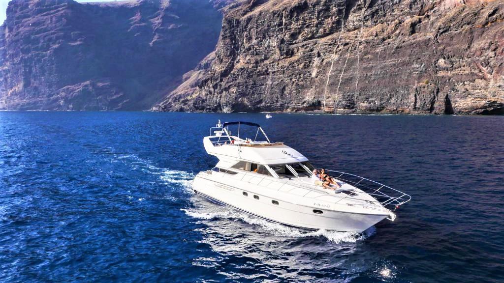 Luxury Motor Boat Charter Los Gigantes