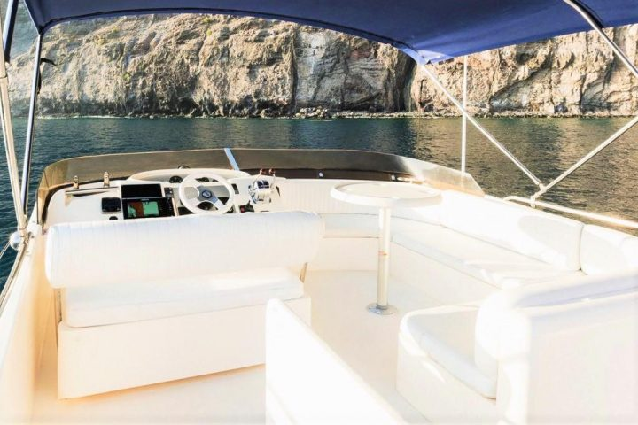 Luxury Motor Boat Charter from Los Gigantes - 5056