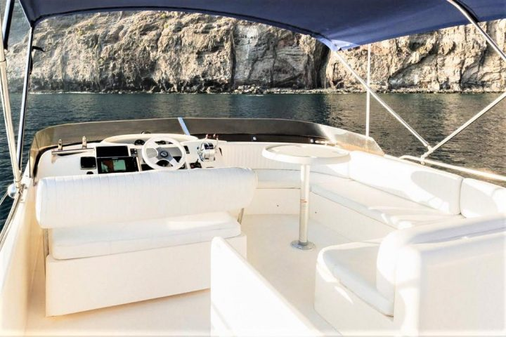 Luxury Motor Boat Charter from Los Gigantes - 5061