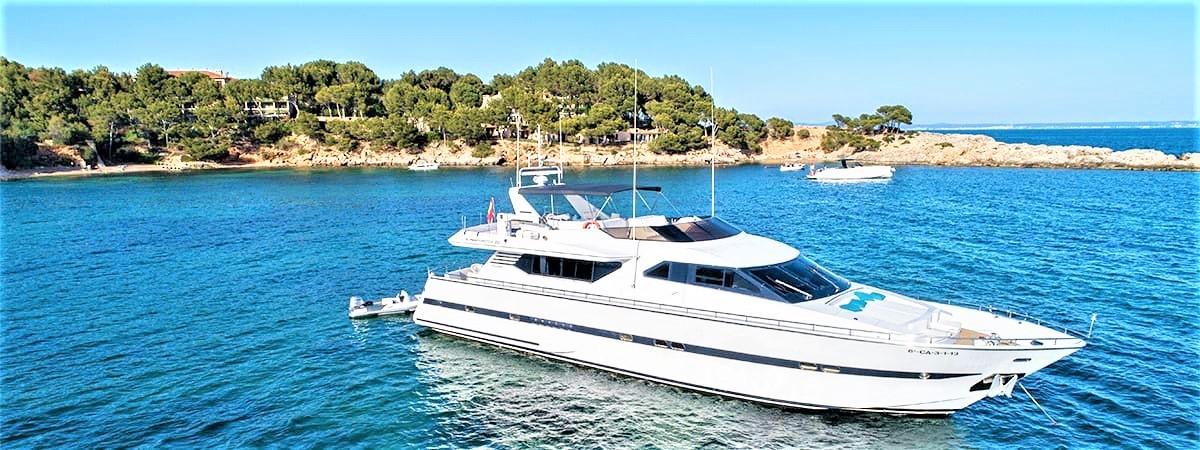 Luxury Mega Yacht Charter in Mallorca