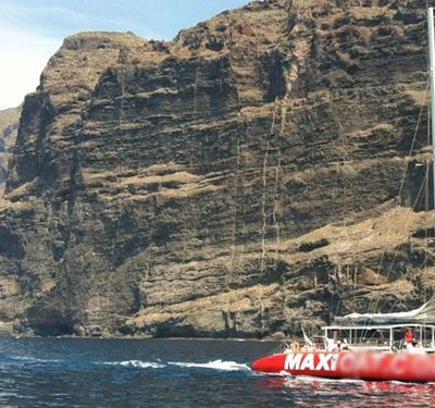 maxicat catamaran tenerife - Bootsfahrt auf Teneriffa mit Katamaran Maxicat nach Los Gigantes & Masca